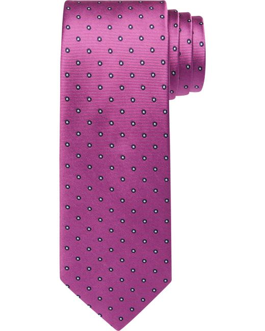 Jos. A. Bank | Pink Traveler Collection Miniature Dots Tie for Men | Lyst