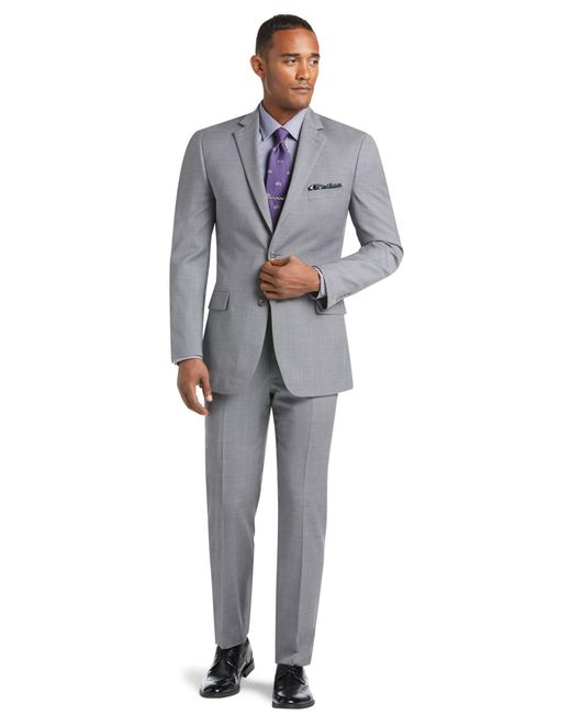Jos. A. Bank - Gray 1905 Collection Tailored Fit Textured Suit Separate Jacket for Men - Lyst