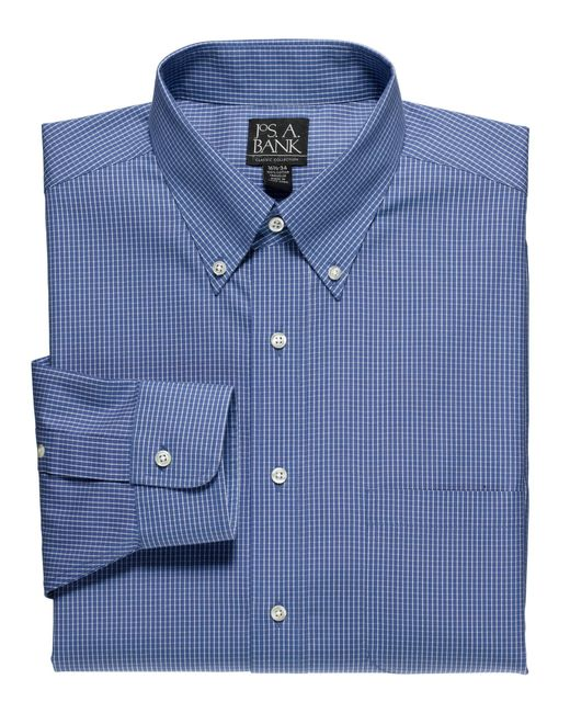 Lyst jos a bank classic collection non iron standard for Joseph banks dress shirts
