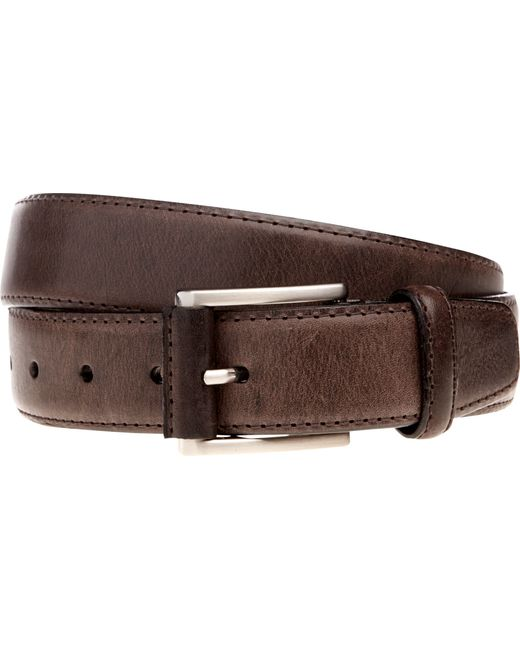 Jos. A. Bank | Brown Joseph Abboud Stitched-edge Distressed Leather Belt for Men | Lyst
