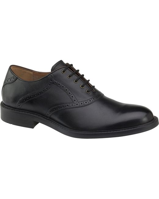 Jos. A. Bank | Black Johnston & Murphy Tabor Saddle Shoes for Men | Lyst