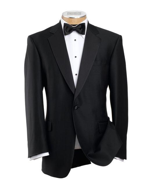 Jos. A. Bank - Black Signature Traditional Fit Notch Lapel Tuxedo Jacket for Men - Lyst