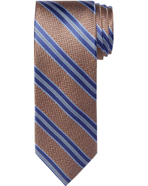 Jos. A. Bank - Blue Reserve Collection Heathered Stripe Tie for Men - Lyst