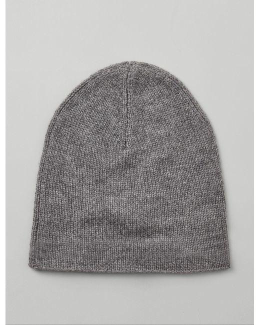 Joseph - Gray Mongolian Cashmere Hat - Lyst