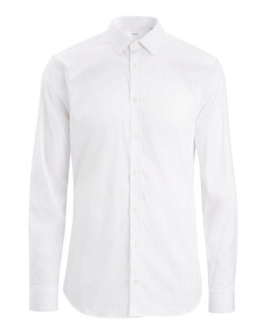 Joseph - White Poplin Stretch Jim Shirt for Men - Lyst