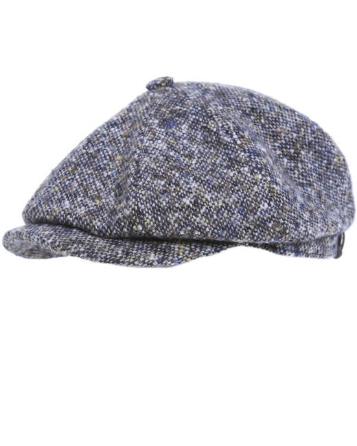Stetson | Multicolor Donegal Tweed Cap for Men | Lyst