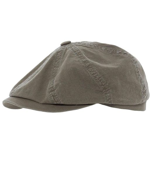 Stetson | Gray Organic Cotton Hatteras Delave Cap for Men | Lyst