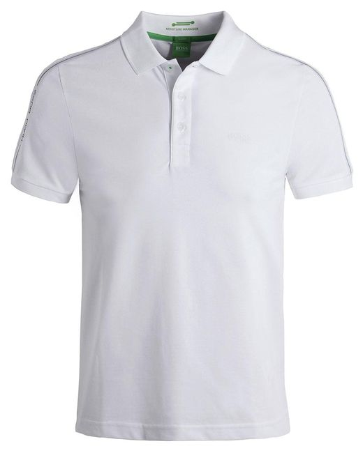 BOSS Green | Natural Paule Polo Shirt for Men | Lyst