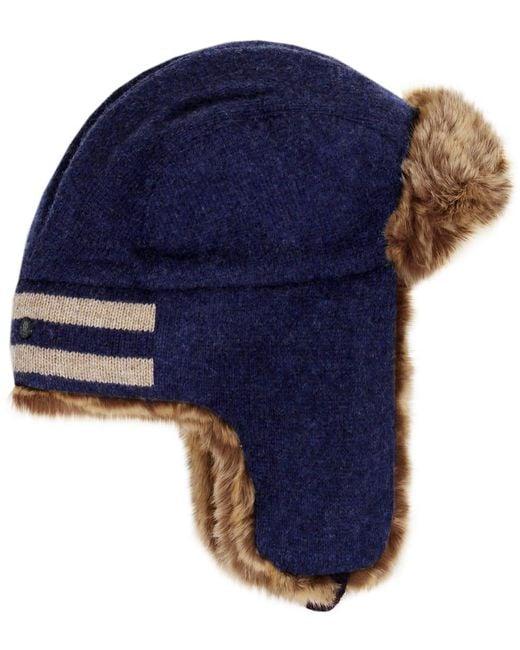 Stetson - Blue Alaska Wool Trapper Hat for Men - Lyst