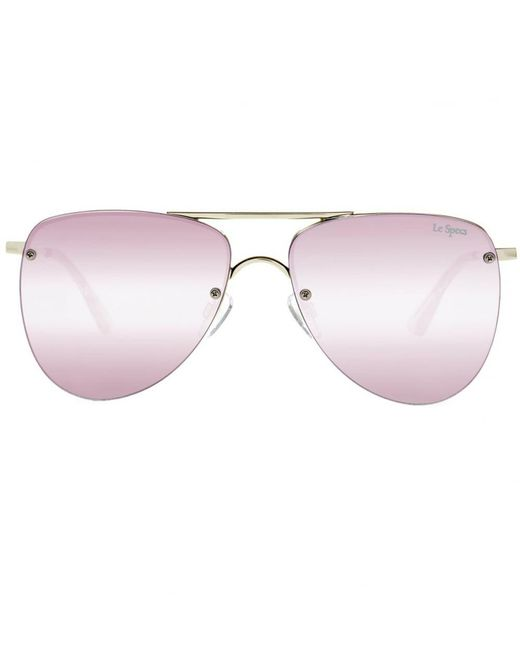 Le Specs - Metallic The Prince Sunglasses for Men - Lyst