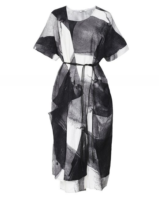 Crea Concept Dress Black / White 29011