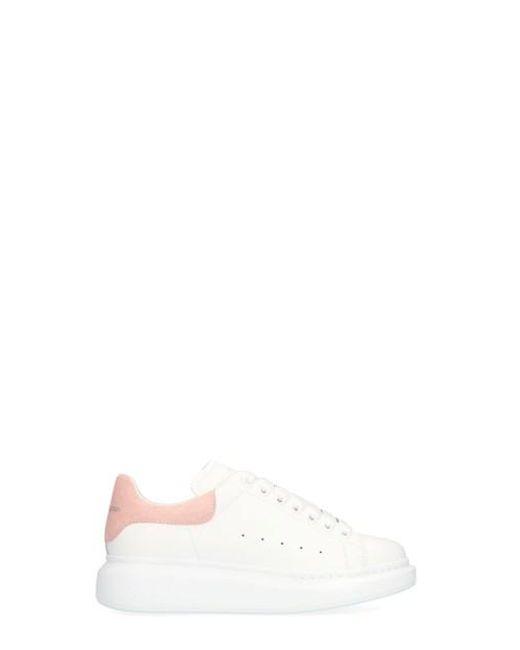 Alexander McQueen Pink 'big Sole' Sneakers