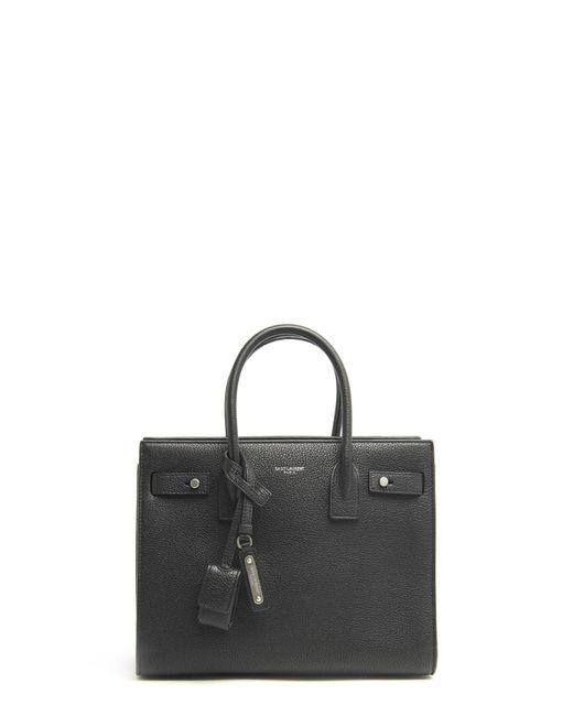 Saint Laurent - Black 'sac De Jour' Hand Bag - Lyst