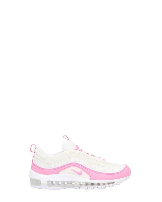 0e2e663c96a3f9 Lyst - Nike  w Air Max 97 Ess  Sneakers in White