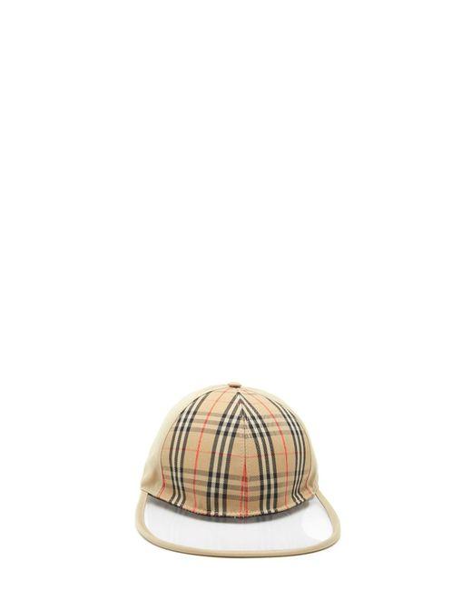 Burberry - Multicolor Check Cap - Lyst