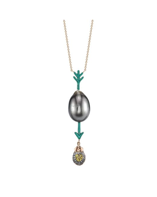 Daniela Villegas - Metallic Be Love South Sea Pearl Necklace - Lyst