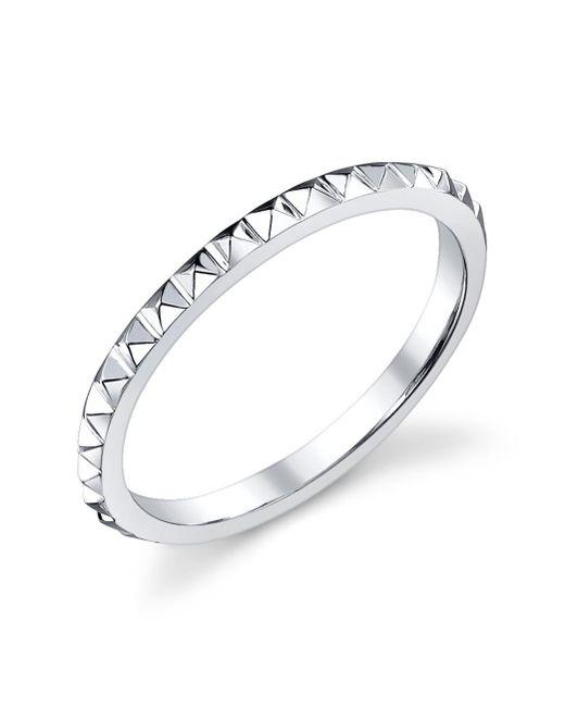 Anita Ko | Metallic Eternity Spike White Gold Ring | Lyst