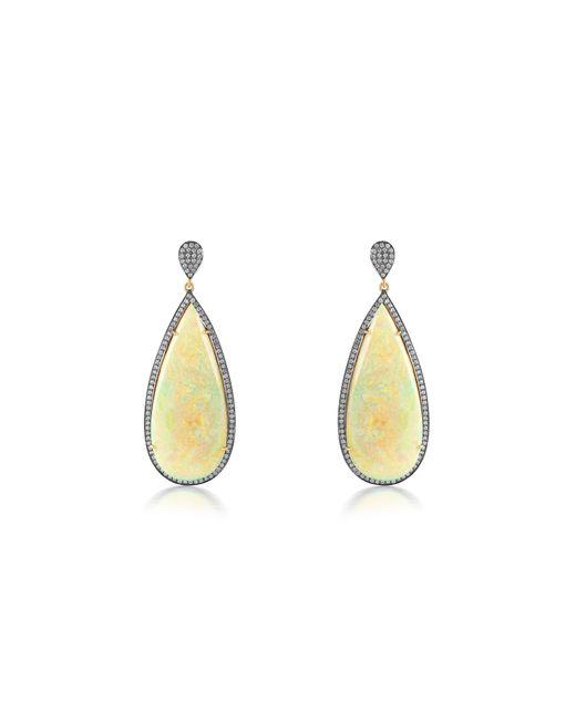 Sanjay Kasliwal - Metallic Opal Earrings - Lyst