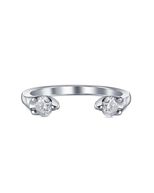 Anita Ko - Metallic Orbit Diamond Split Ring - Lyst
