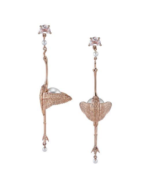 Daniela Villegas - Multicolor Viajeros Flamingo Earrings - Lyst