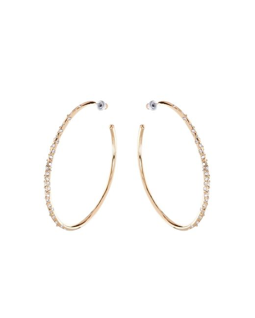 Karen Millen - Metallic Crystal Sprinkle Earrings - Gold Colour - Lyst