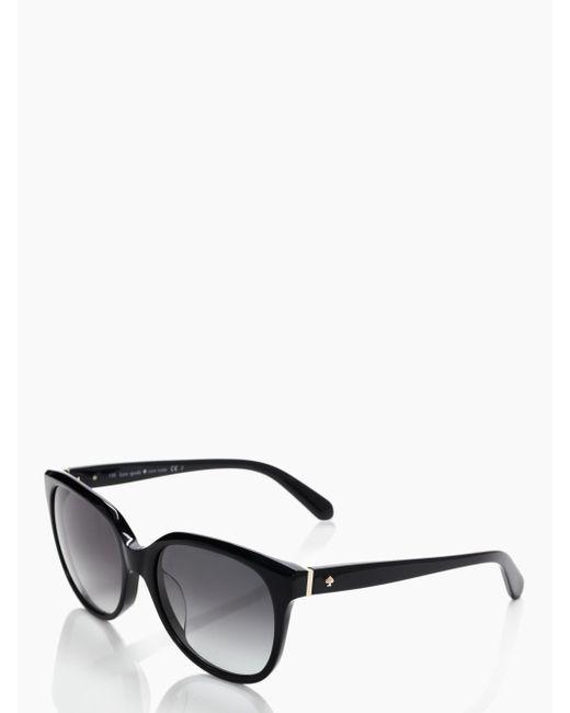 Kate Spade | Black Bayleigh Sunglasses | Lyst
