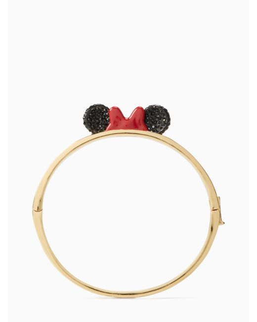 Kate Spade - Multicolor New York For Minnie Mouse Bangle - Lyst