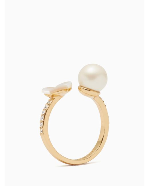 Kate Spade | Multicolor Disco Pansy Ring | Lyst