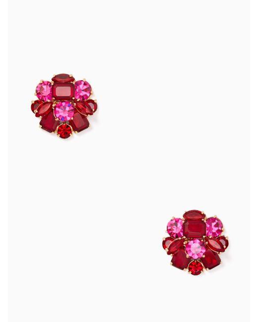 Kate Spade | Multicolor Shine On Cluster Studs | Lyst