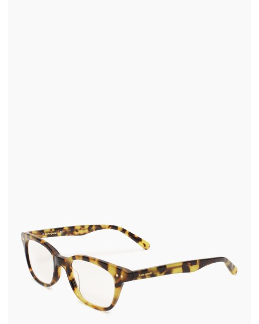 Kate Spade - Brown Rebecca Glasses - Lyst