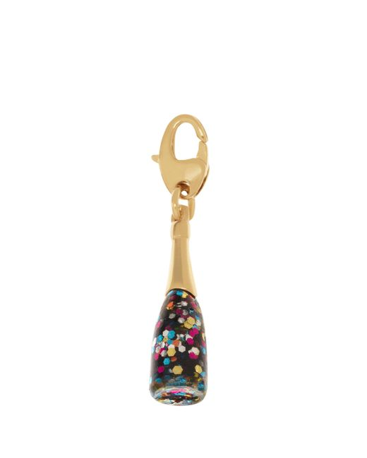 Kate Spade | Metallic Champagne Bottle Charm | Lyst