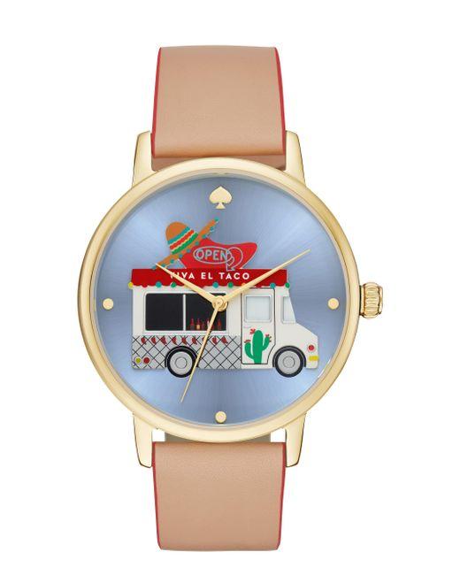 Kate Spade | Metallic Taco Truck Metro Grand Watch | Lyst