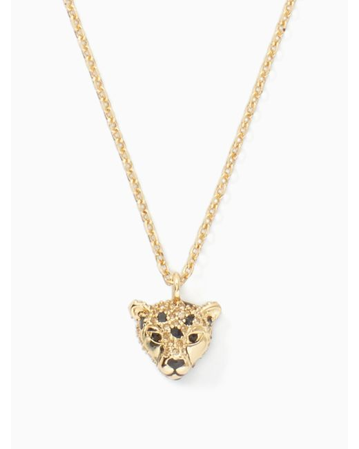 Kate Spade | Metallic Run Wild Cheetah Mini Pendant | Lyst