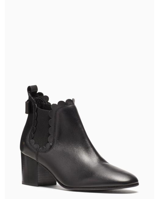 Kate Spade | Black Garden Boots | Lyst
