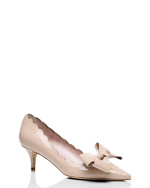 Kate Spade - Natural Maxine Heels - Lyst