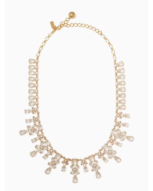 Kate Spade | Metallic Take A Shine Necklace | Lyst