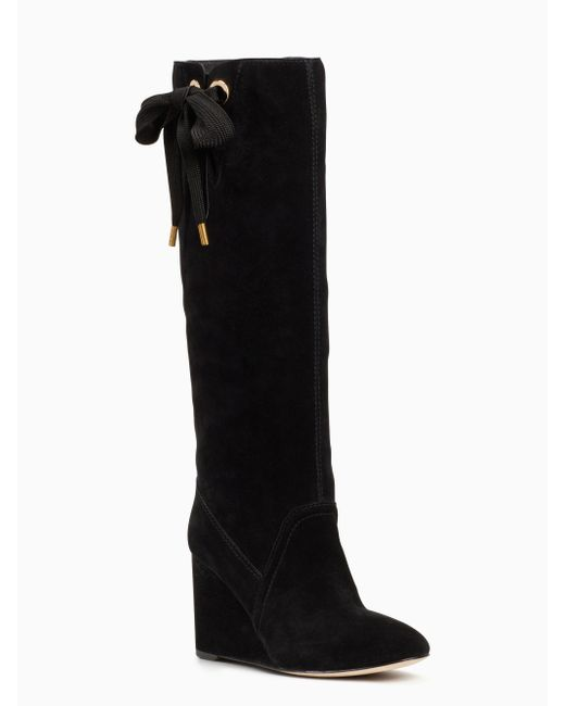 Kate Spade   Black Gayle Boots   Lyst