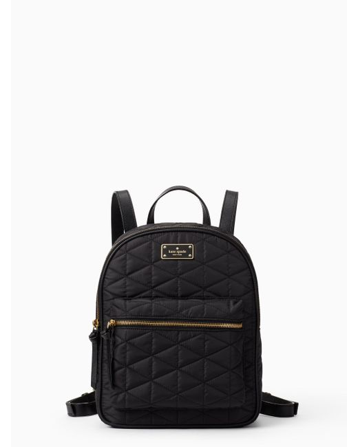 Kate Spade - Black Wilson Road Quilted Small Bradley - Lyst