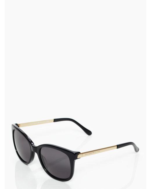 kate spade new york | Black Gayla Sunglasses | Lyst