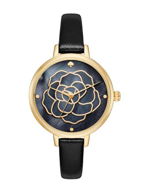 Kate Spade   Metallic Rose Dial Metro Watch   Lyst