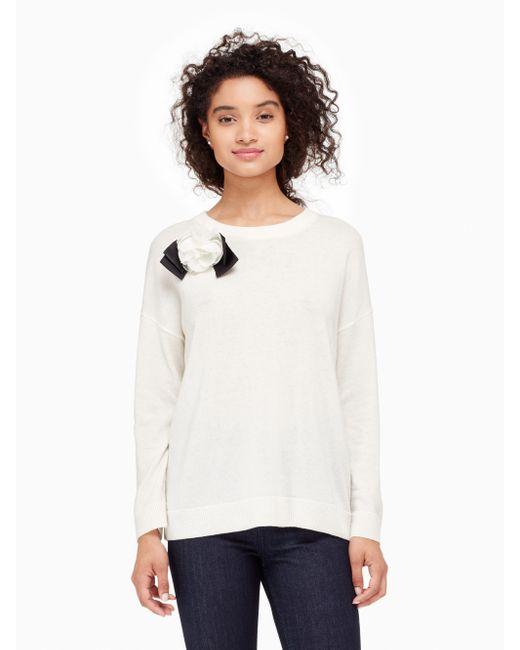 Kate Spade Bow Sweater December 2017