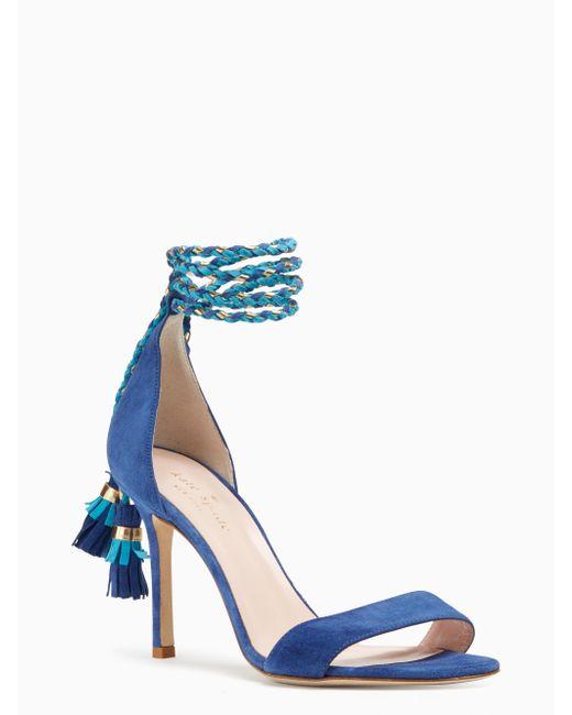 Kate Spade | Blue Inez Heels | Lyst