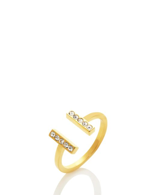 Kate Spade | Metallic Dainty Sparklers Bar Ring | Lyst