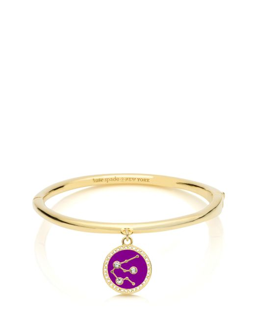 Kate Spade | Multicolor In The Stars Aquarius Bangle | Lyst