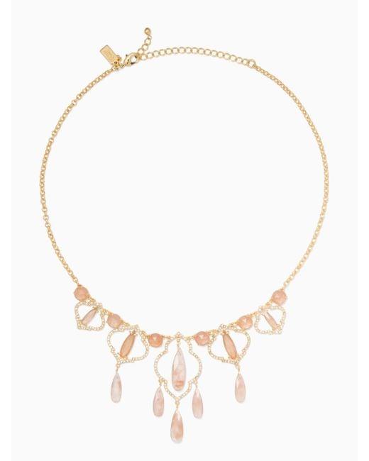 Kate Spade | Multicolor Lantern Gems Necklace | Lyst
