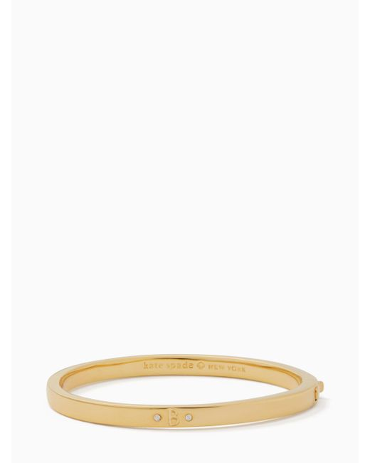 Kate Spade - Multicolor One In A Million Initial Bangle - Lyst