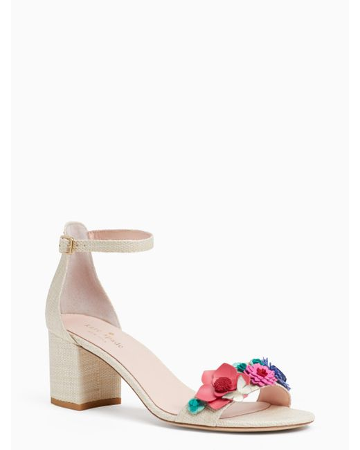 Kate Spade - Natural Wendy Sandals - Lyst