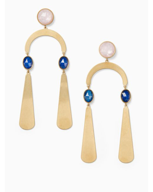 Kate Spade - Multicolor Sunshine Stones Mobile Statement Earrings - Lyst