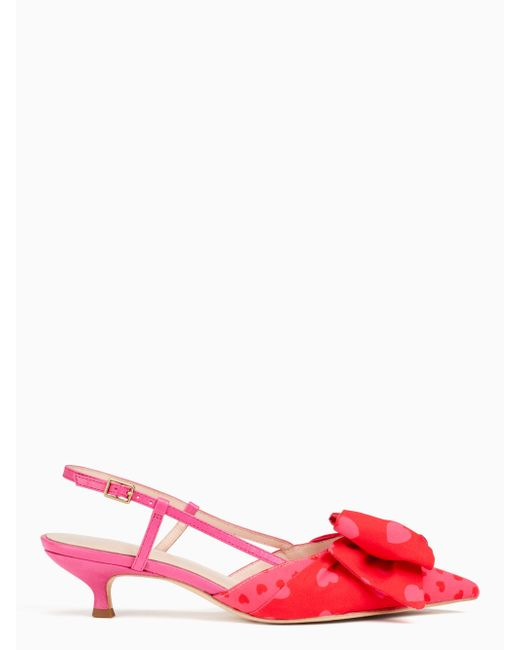6d8a3144503 Lyst - Kate Spade Daxton Pumps in Red - Save 30%