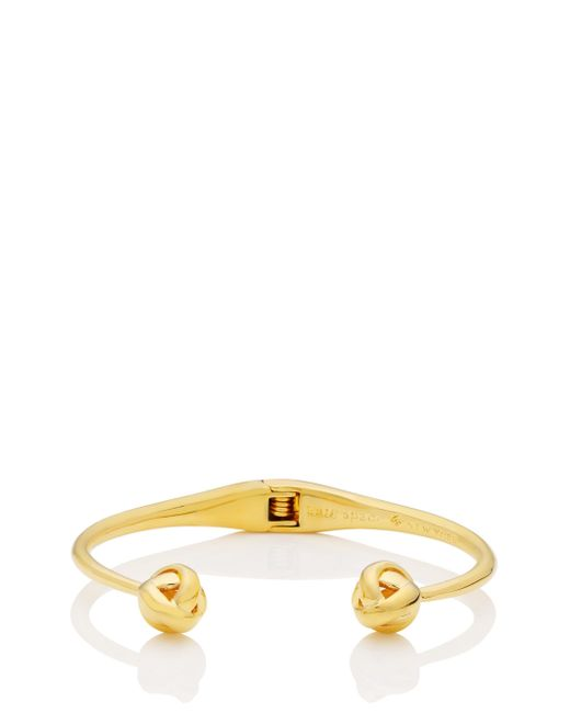 Kate Spade - Metallic Dainty Sparklers Knot Cuff - Lyst